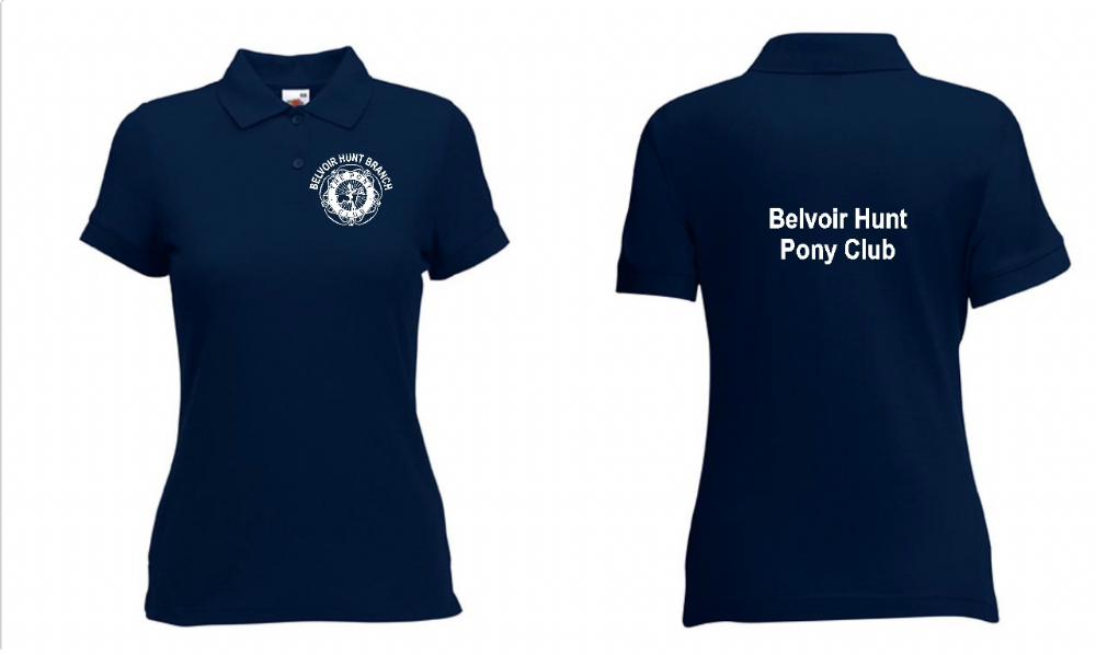 Ladies Fit Belvoir Polo Shirt - Navy